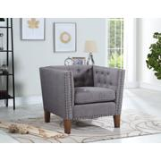 Campbell Accent Chair - Grey Product Image
