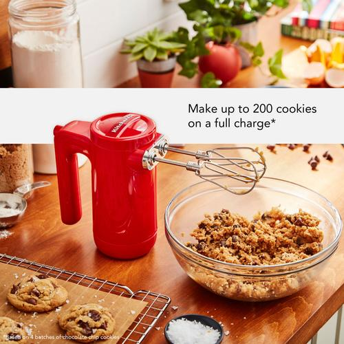 Gallery - Cordless 7 Speed Hand Mixer - Passion Red