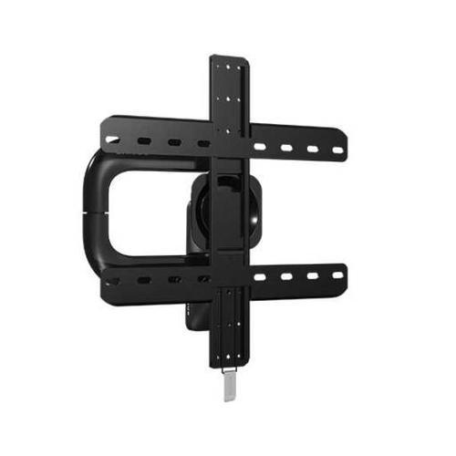 "Black Premium Series Full-Motion  Mount for 40"" - 50"" flat-panel TVs up 75 lbs."