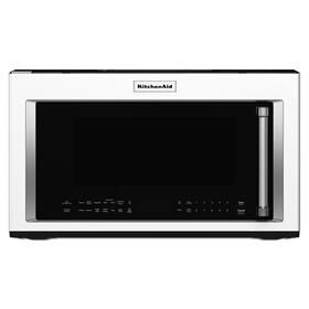 "30"" 1000-Watt Microwave Hood Combination with Convection Cooking - White"