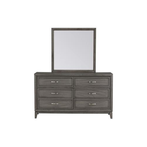 Winchester 6-Drawer Dresser, Grey