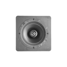 """See Details - Disappearing Series Square 6.5"""" In-Wall / In-Ceiling Speaker"""