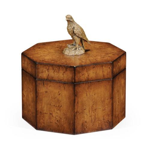 Octagonal Walnut Box