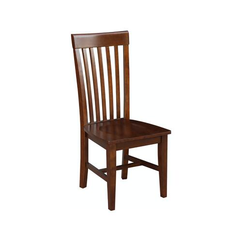 John Thomas Furniture - Tall Mission Chair in Espresso