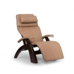 Perfect Chair ® PC-420 Classic Manual Plus - Sand Top Grain Leather - Dark Walnut