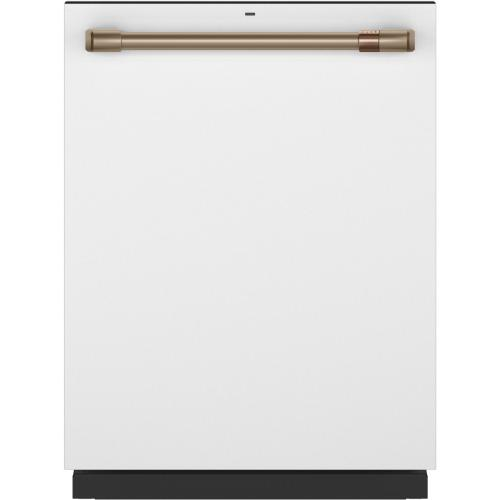 GE Appliances - Café Stainless Interior Built-In Dishwasher with Hidden Controls