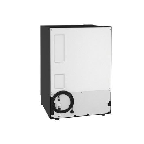 "KitchenAid Canada - 24"" Panel-Ready Undercounter Refrigerator - Black Cabinet/Stainless Doors"