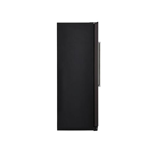 19.9 cu ft. Counter-Depth Side-by-Side Refrigerator with Exterior Ice and Water - Black Stainless