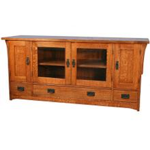 Widescreen TV Console - 66W x 21D x 30H