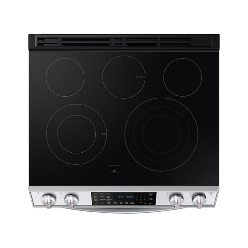 6.3 cu. ft. Smart Slide-in Electric Range with Air Fry in Stainless Steel