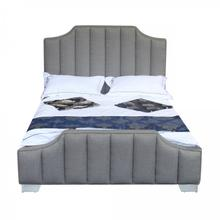 Armen Living Camelot Contemporary Queen Bed