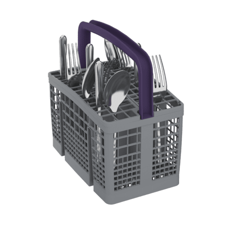 Beko - Tall Tub White Dishwasher, 15 place settings, 45 dBa, Front Control