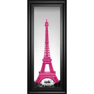 """Pretty In Paris"" By Emily Navas Framed Print Wall Art"