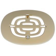 See Details - Snap In Shower Drain Trim Grid - Satin Brass
