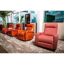 See Details - Dexter Contemporary Swivel Recliner - American Leather