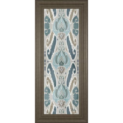 """""""A Touch Of Flourish II"""" By Patricia Pinto Framed Print Wall Art"""
