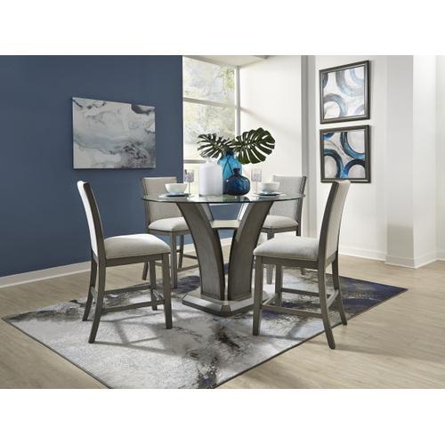 Standard Furniture - Zayden Grey Counter Height Round Table