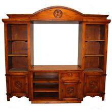 """See Details - 45"""" Estate Wall Unit W/ Star"""