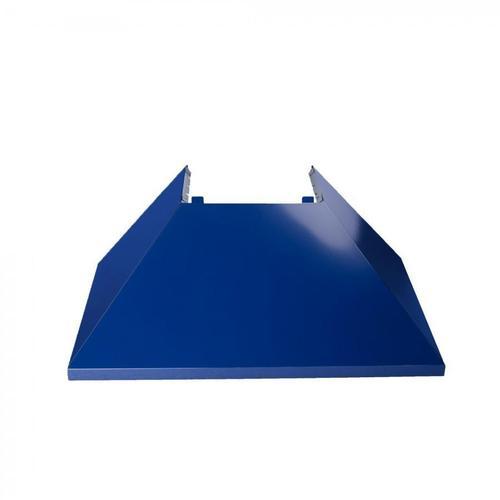 "ZLINE 30"" Colored Range Hood Shell (8654-SH-30) - Shell Only [Color: Blue Gloss]"