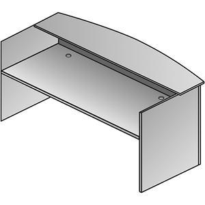 "Napa Reception Desk Shell 71""x36""x42"""