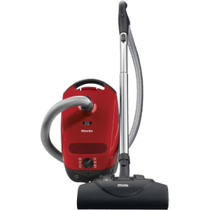 MieleClassic C1 HomeCare PowerLine - SBAN0 - canister vacuum cleaners with electrobrush for thorough cleaning of heavy-duty carpeting.