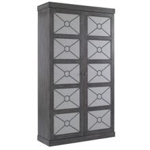 Alpine Cabinet with Upholstery Panels