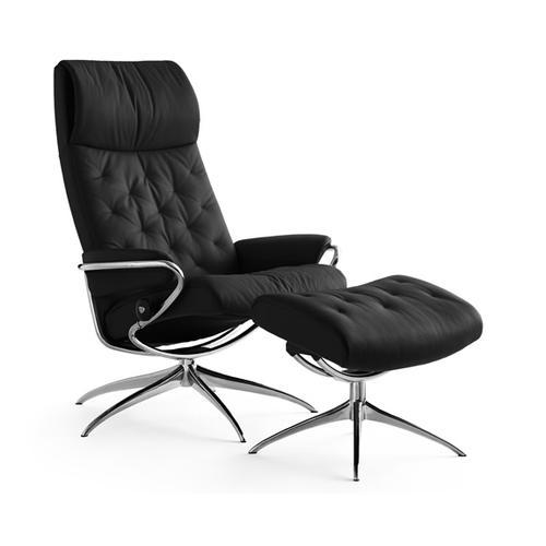 Stressless By Ekornes - Stressless Metro chair high back std base