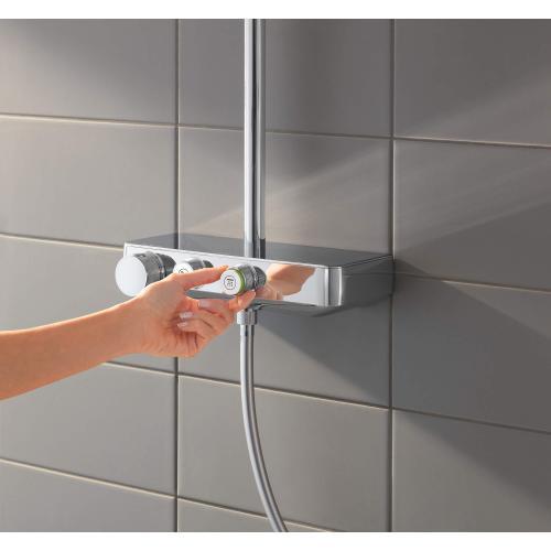 Euphoria Smartcontrol Thermostatic Shower System