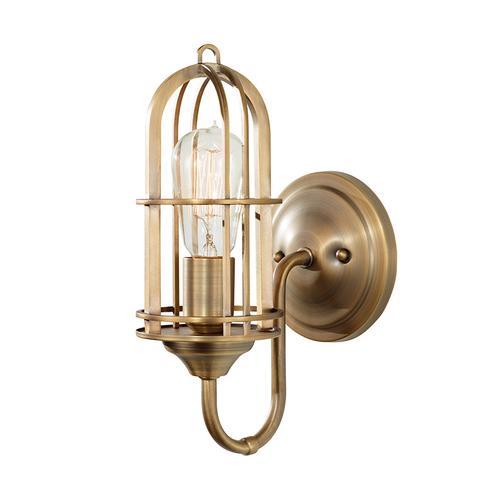 Urban Renewal 1 - Light Sconce Dark Antique Brass