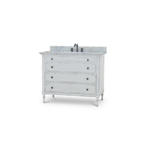 Bramble - Carrington Single Vanity w/ Sink & Marble top