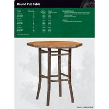 Product Image - Hickory Pub Table