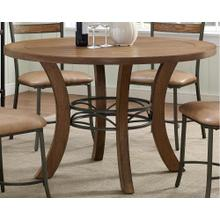 See Details - Avery Wood Plank Round Dinette