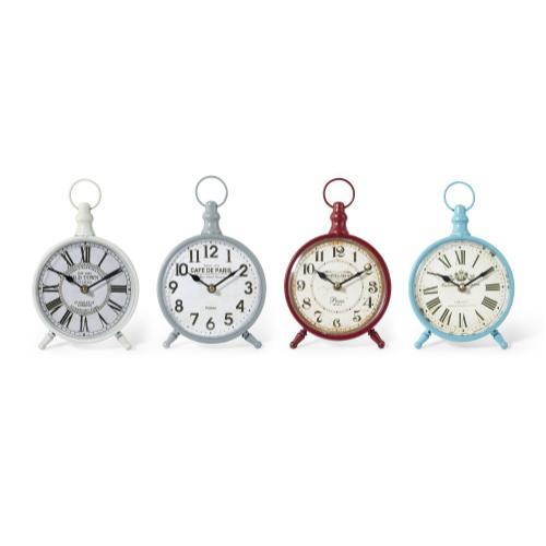 Addyson Table Clocks - Ast 4