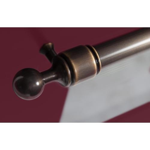 Majestic II 36 Inch Dual Fuel Liquid Propane Freestanding Range in Burgundy with Bronze Trim