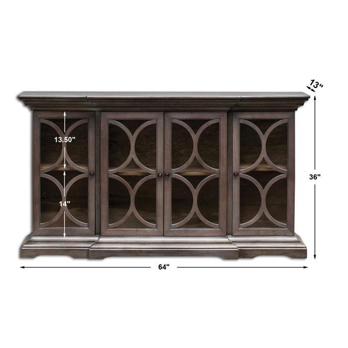 Uttermost - Belino 4 Door Cabinet