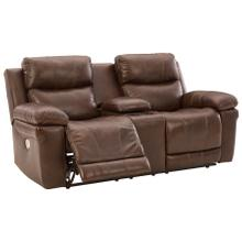 Edmar Power Reclining Loveseat With Console