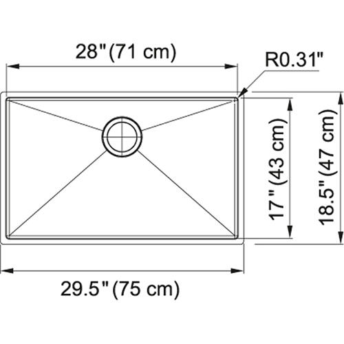 Planar 8 PEX110-28 Stainless Steel