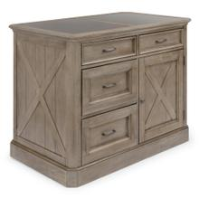 Mountain Lodge Kitchen Island