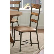 See Details - Avery Wood Plank Chair