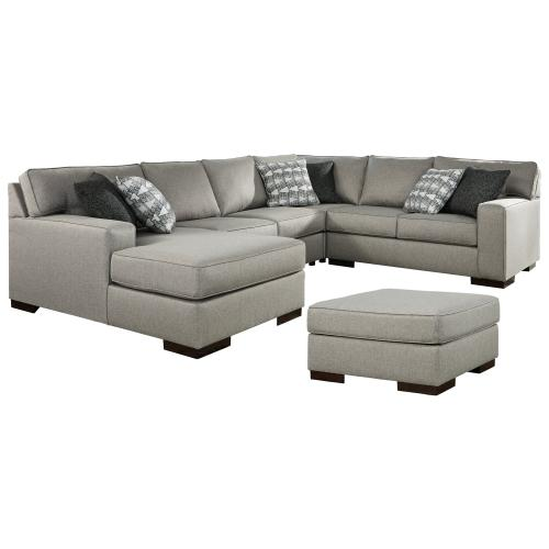 Product Image - 4-piece Sectional With Ottoman