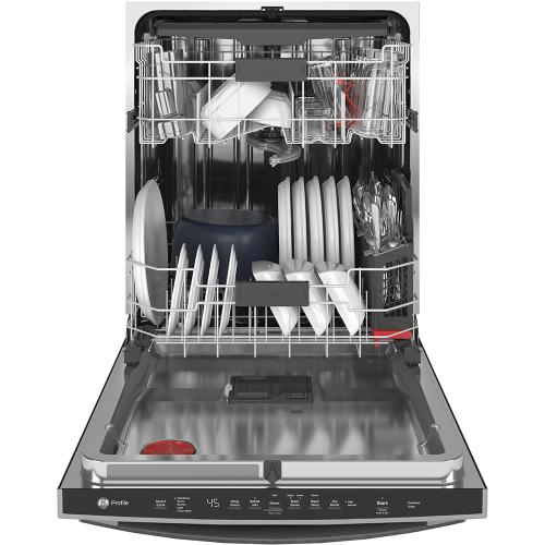 Gallery - GE Profile™ Stainless Steel Interior Dishwasher with Hidden Controls Slate - PDT715SMNES