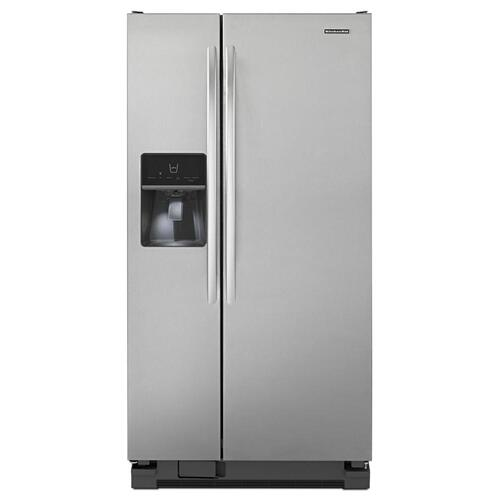 Gallery - 21 Cu. Ft. Standard-Depth Side-by-Side Refrigerator, Architect® Series II - Stainless Steel