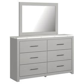 Cottonburg Dresser and Mirror
