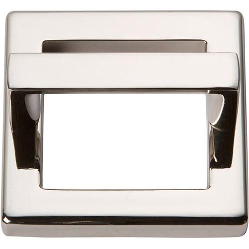 Tableau Square Base and Top 1 13/16 Inch (c-c) - Polished Nickel