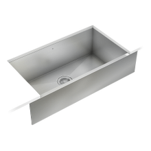 ProInox H0 Single Bowl Farmhouse/Apron Kitchen Sink ProInox H0 18-gauge Stainless Steel, 30'' X 16'' X 8''