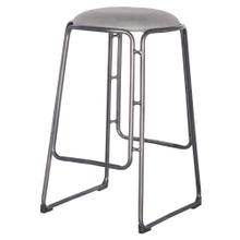Oasis PU Metal Counter Stool, Vintage Mist Gray