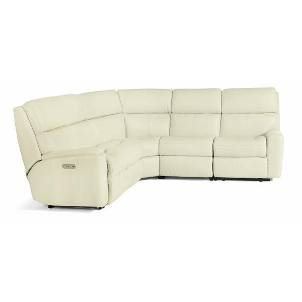 See Details - Rio Power Reclining Sectional with Power Headrests