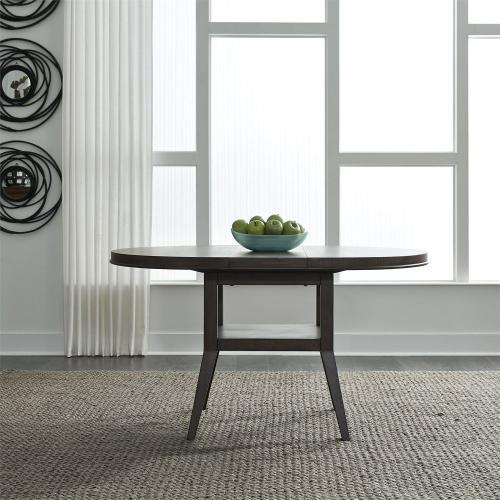 Oval Pedestal Table