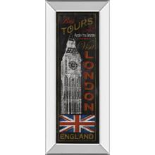 """London Tours"" By Conrad Knutsen Mirror Framed Print Wall Art"