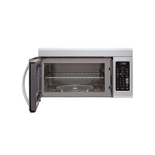 LG - 1.8 cu. ft. Over-the-Range Microwave Oven with EasyClean®